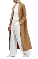 Topshop Women's Butted Seam Duster Coat