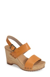 Timberland 'Tilden' Leather Double Strap Platform Sandal Women Apricot