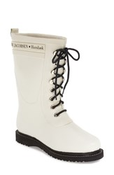 Women's Ilse Jacobsen Hornb K Rubber Boot White