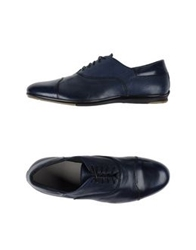 Alexander Hotto Lace Up Shoes Blue