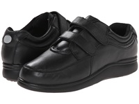 Hush Puppies Power Walker Ii Black Leather Women's Walking Shoes