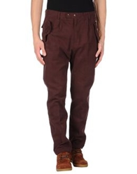 Camo Casual Pants Dark Blue