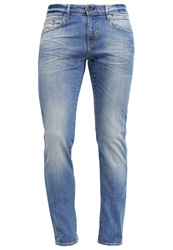 Meltin Pot Markus Slim Fit Slim Fit Jeans Lightblue Light Blue