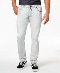 Inc International Concepts Dekalb Skinny Fit Boot Cut Cloud Wash Jeans Only At Macy's Light Wash