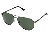 Vonzipper Farva Polar Antique Charcoal Satin Grey Poly Polar Fashion Sunglasses Gray