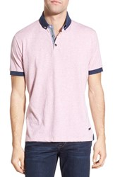 Men's Stone Rose Cotton Jersey Polo Soft Pink