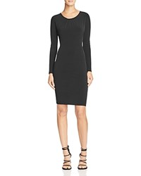 Velvet By Graham And Spencer Stretch Jersey Dress Black