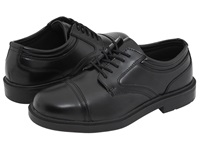 Deer Stags Telegraph Black Men's Lace Up Cap Toe Shoes