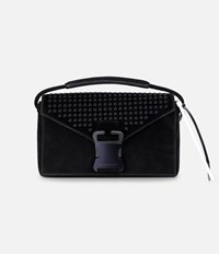 Christopher Kane Hotfix Devine Shoulder Bag Black