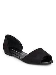 Chinese Laundry Countdown Suede Peep Toe D'orsay Flats