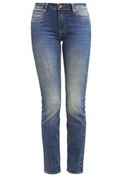 Lee Emlyn Straight Leg Jeans Aqua Tint Stone Blue