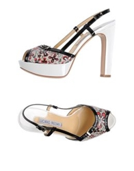 Luciano Padovan Sandals White