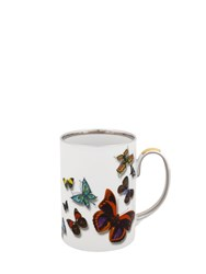Christian Lacroix Butterfly Parade Set Of 4 Mugs