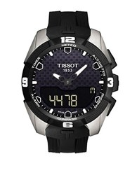 Tissot Mens T Touch Expert Solar Quartz Watch Black