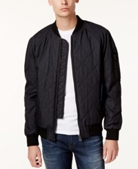 William Rast Men's Bedford Quilted Jacket Black