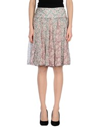 Alysi Skirts Knee Length Skirts Women Light Grey