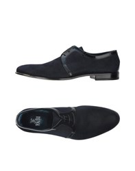 Fabi Footwear Lace Up Shoes Men Dark Blue