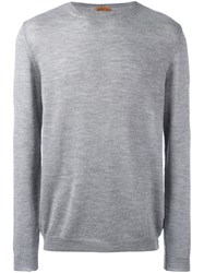 Barena Crew Neck Jumper Grey
