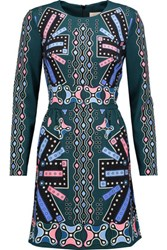 Peter Pilotto Printed Twill Dress Multi