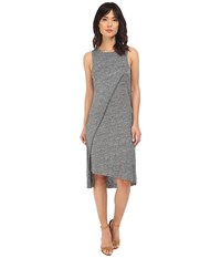 Alternative Apparel Heather Linen Olympic Dress Charcoal Heather Women's Dress Gray