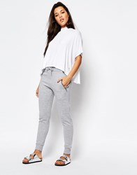 Missguided Zip Detail Jogger Gray