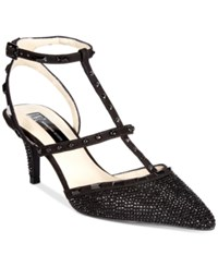 Inc International Concepts Carma Evening Pumps Only At Macy's Women's Shoes Black Glitter