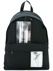 Givenchy Patched Backpack Black