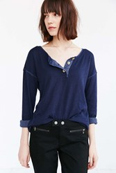 Truly Madly Deeply Andi Henley Top Navy