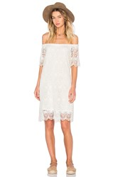Velvet By Graham And Spencer Gustina Cotton Lace Shift Dress White