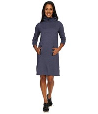 Lole Gray Dress Amalfi Blue Heather Women's Dress