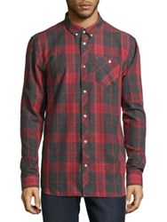 Wesc Button Down Plaid Shirt Multi