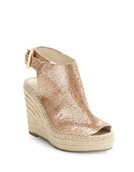 Kenneth Cole Olivia Espadrille Wedge Beige