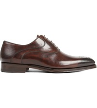 Magnanni Perforated Oxford Brogues Dark Brown