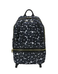 Cynthia Rowley Brody Lace Backpack Black Lace