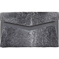 J. Mendel Women's Messager Envelope Clutch Grey