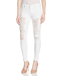 Black Orchid Destructed Skinny Jeans In Frost