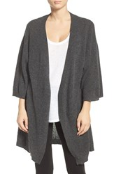 Chelsea 28 Women's Chelsea28 Cashmere Robe Grey Charcoal