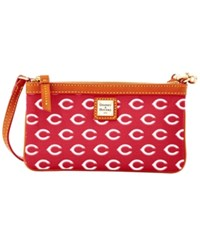 Dooney And Bourke Cincinnati Reds Mlb Large Wristlet