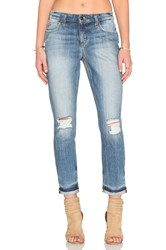 Joe's Jeans Blakely Collector's Edition The Billie Ankle Light Blue Distressed