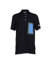 Umit Benan Topwear Polo Shirts Men Dark Blue