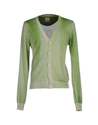 Zu Elements Zu Elements Knitwear Cardigans Men Light Green