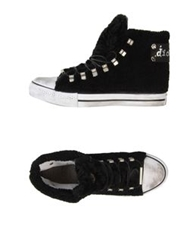 Dioniso High Top Sneakers Black