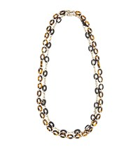 Max Mara Maxmara Weekend Suvi Double Layer Necklace Female Brown