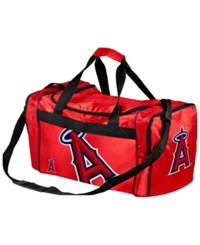 Forever Collectibles Los Angeles Angels Of Anaheim Core Duffle Bag Red