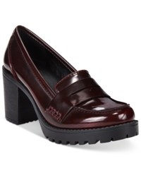 Mojo Moxy Dolce By Jukebox Oxfords Women's Shoes Burgundy