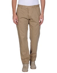 Officina 36 Trousers Casual Trousers Men Camel