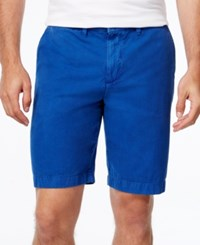 Tommy Hilfiger Men's Core Classic Fit Chino Shorts Surf The Web