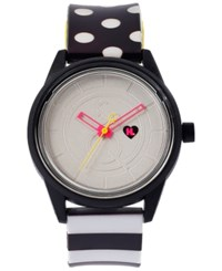 Harajuku Lovers Unisex Solar Limited Edition Baby Don't Lie Strap Watch 40Mm Hl2101