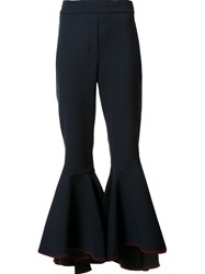 Ellery 'Hysteria' Flared Trousers Black