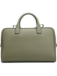 Valas Structured Big Tote Green